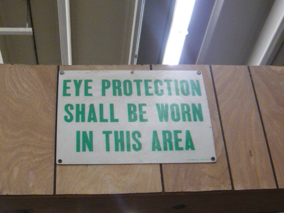 18 Eye Protection